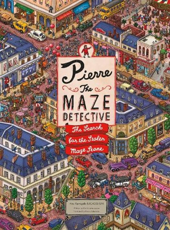 Pierre the Maze Detective