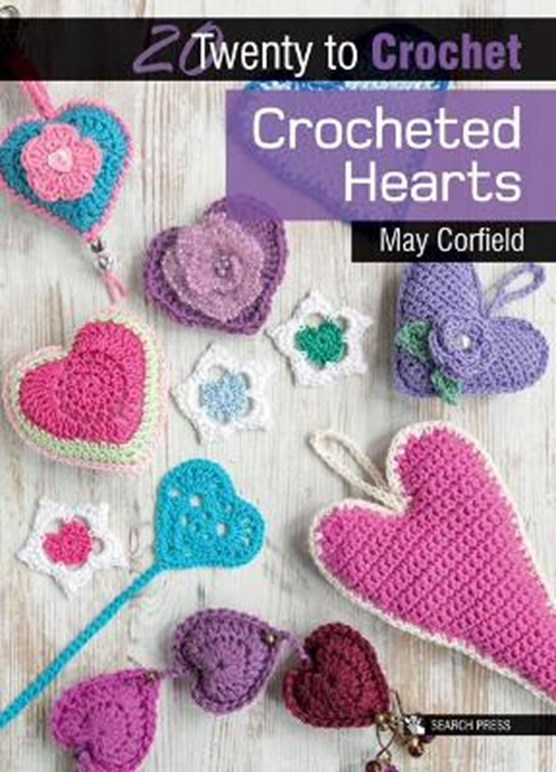 20 to Crochet: Crocheted Hearts