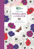 RHS Postcards to Colour | Michael O'mara Books |