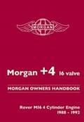 Morgan +4 16 Valve Morgan Owners Handbook | R. M. Clarke |