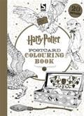 Harry potter postcard colouring book | warner brothers warner brothers |