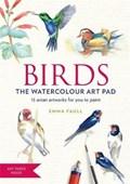 BIRDS Watercolour Art Pad | Emma Faull |