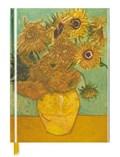 Van gogh: sunflowers (blank sketch book) | auteur onbekend |