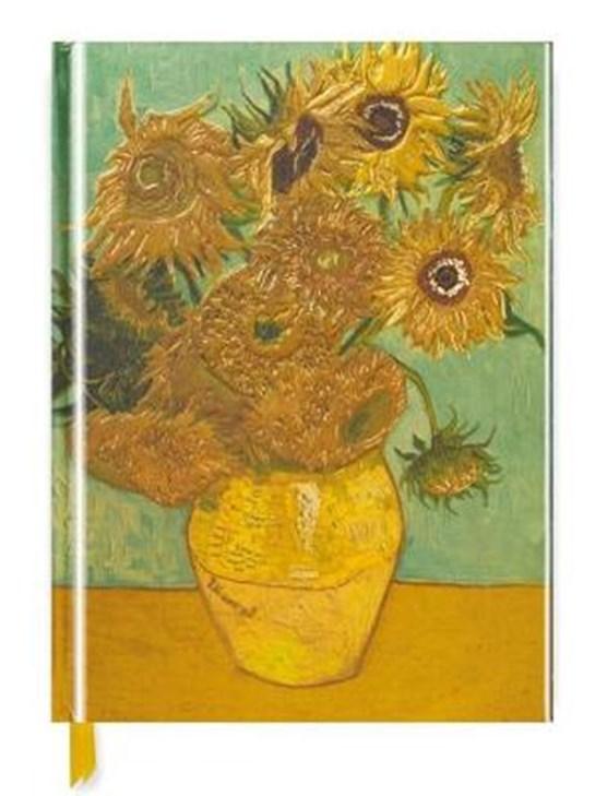 Van gogh: sunflowers (blank sketch book)