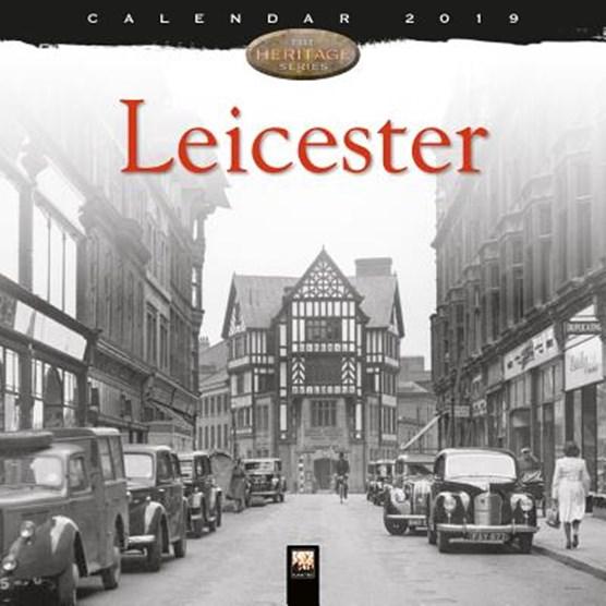 Leicester Heritage Wall Calendar 2019 (Art Calendar)