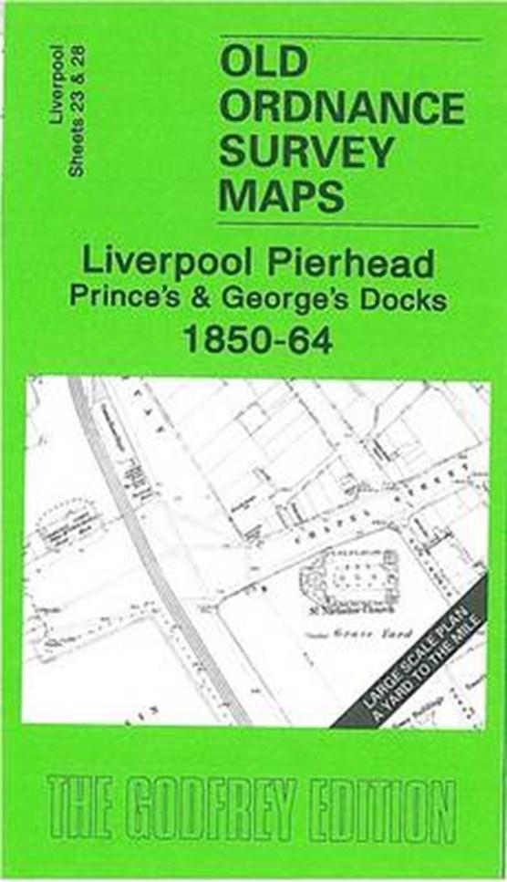 Liverpool Pierhead, Prince's and George's Docks 1850-64
