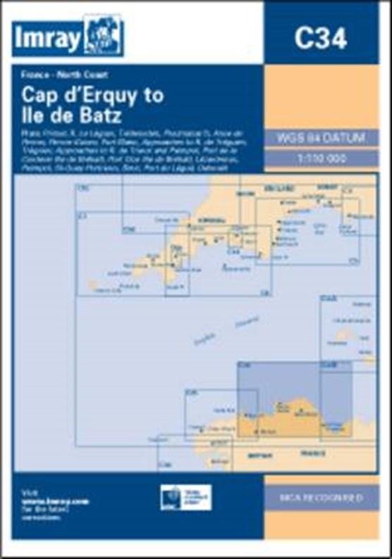 Imray Chart C34
