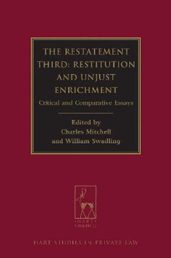 The Restatement Third: Restitution and Unjust Enrichment