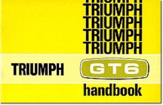 Triumph Owners' Handbook: Gt6 Mk2 & Gt6+