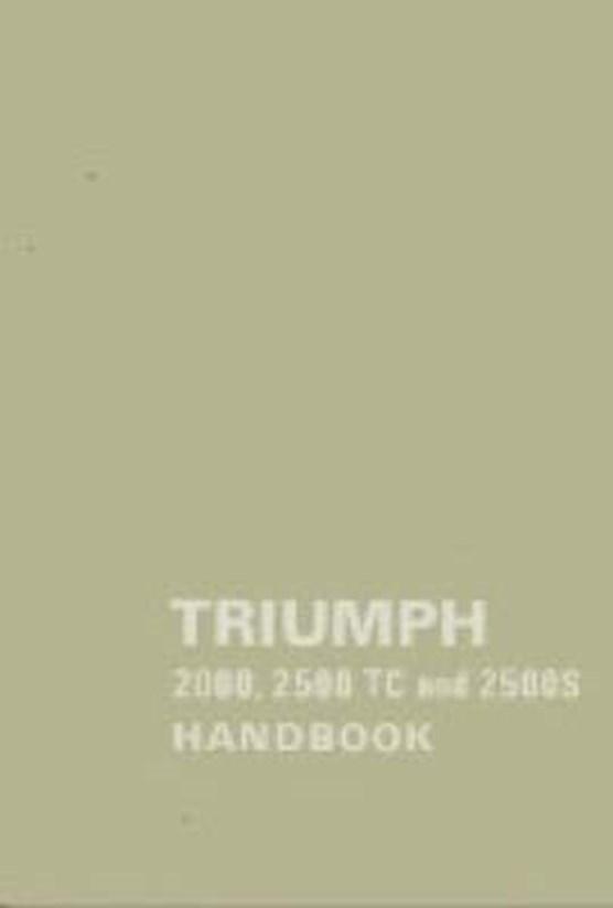 Triumph 2000, 2500TC and 2500s