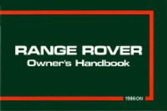 Range Rover 1986/87