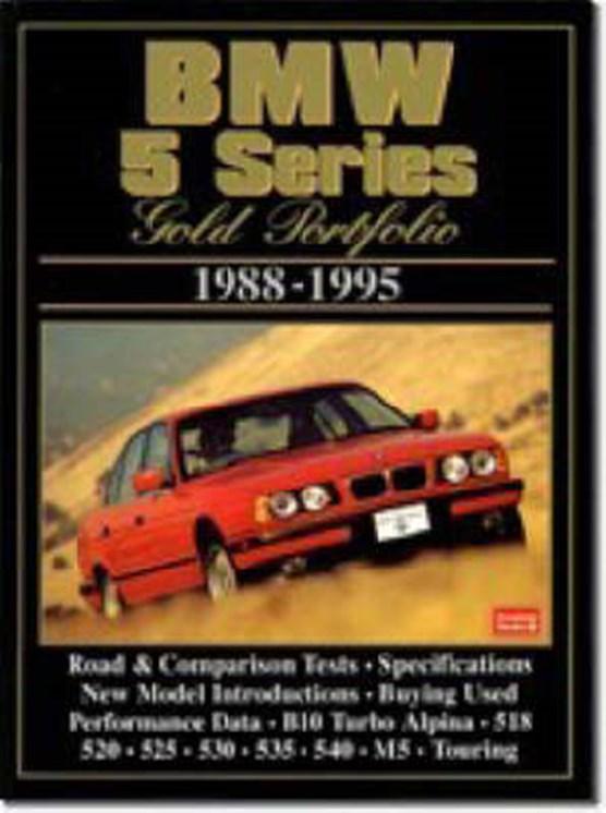 BMW 5 Series Gold Portfolio1988-95