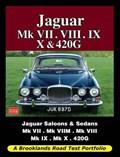 Jaguar Mk VII. VIII. IX. X and 420G   R. M. Clarke  