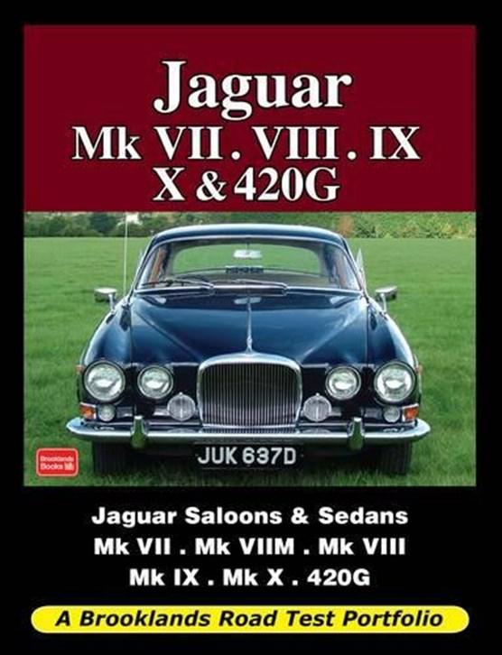 Jaguar Mk VII. VIII. IX. X and 420G