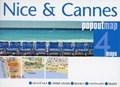 Nice & Cannes PopOut Map   auteur onbekend  