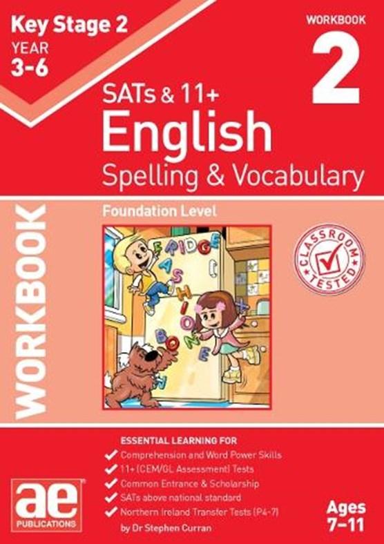 KS2 Spelling & Vocabulary Workbook 2
