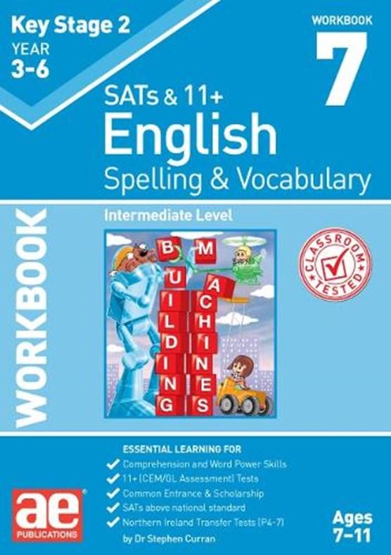 KS2 Spelling & Vocabulary Workbook 7