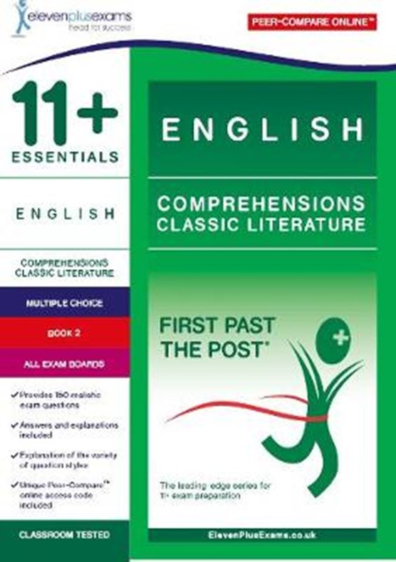 11+ Essentials English Comprehensions: Classic Literature Book 2