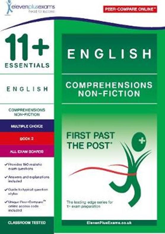 11+ Essentials English Comprehensions: Non-Fiction Book 2