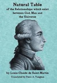 Natural Table   Louis-Claude De Saint-Martin ; Piers a Vaughan  