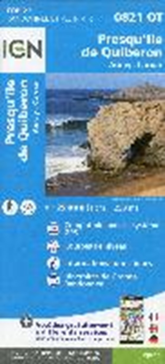 Presqu`île de Quiberon 1 : 25 000