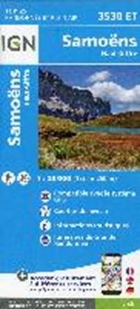 Samoëns - Haut-Giffre 1 : 25 000   auteur onbekend  