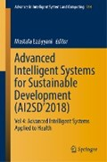Advanced Intelligent Systems for Sustainable Development (AI2SD'2018) | Mostafa Ezziyyani |