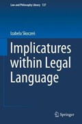 Implicatures within Legal Language   Izabela Skoczen  