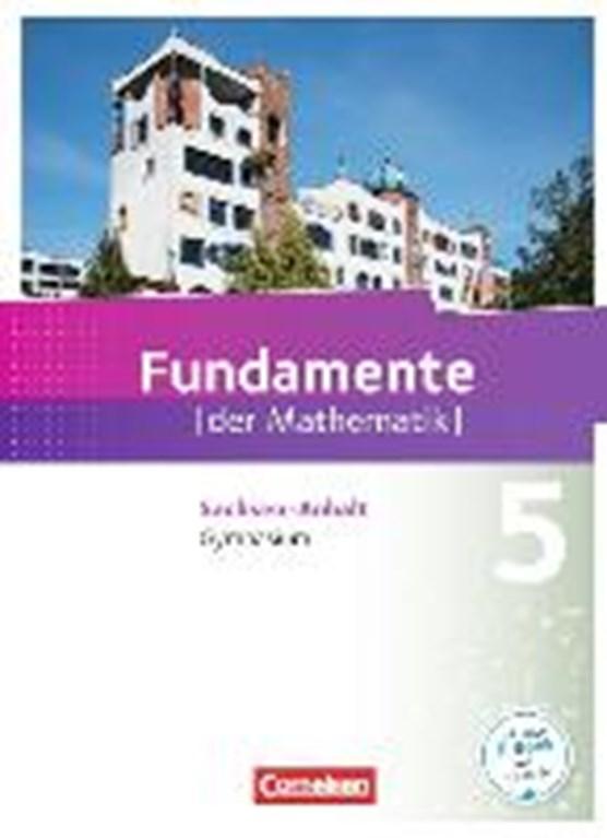 Fundamente der Mathematik 5. Schuljahr. Schülerbuch Gymnasium Sachsen-Anhalt