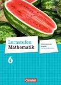 Lernstufen Mathematik 6. Schuljahr. Schülerbuch. Differenzierende Ausgabe Nordrhein-Westfalen | auteur onbekend |