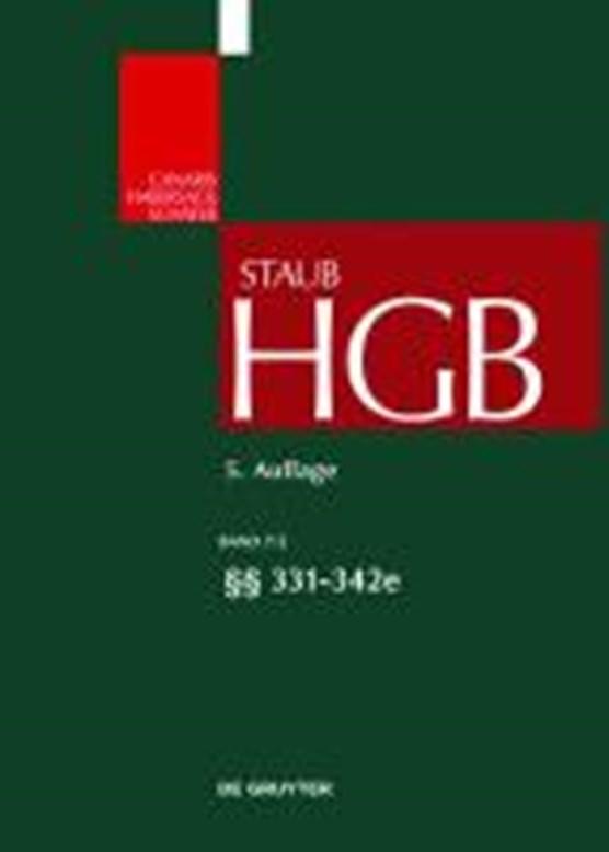 Handelsgesetzbuch Grosskommentar 5.A Bd. 7/2 P.331-342e