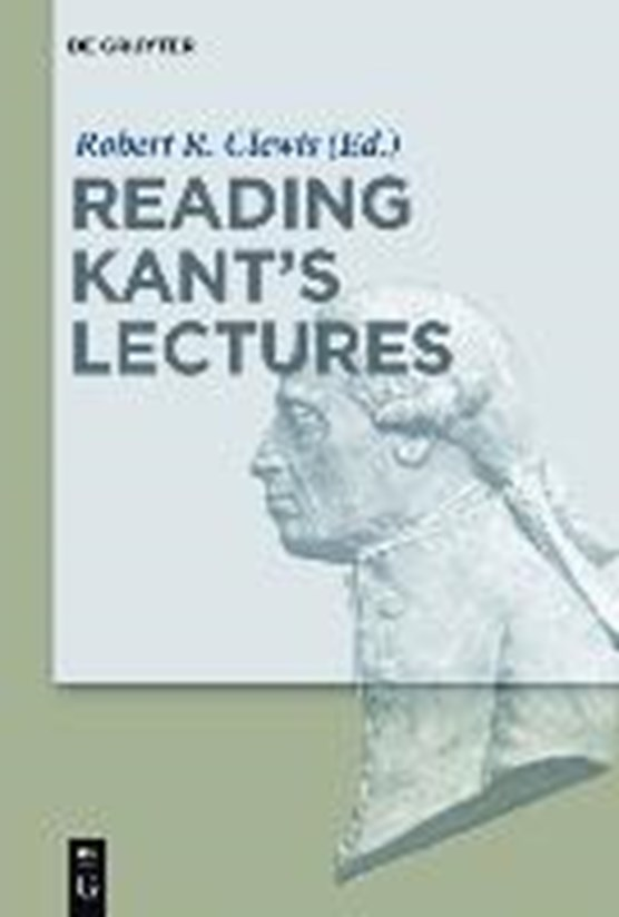 Reading Kant's Lectures