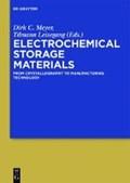 Electrochemical Storage Materials   Meyer, Dirk C. ; Leisegang, Tilmann ; Zschornak, Matthias  