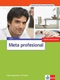 Meta profesional B1 (edición internacional). Libro de ejercicios + Audio-CD   auteur onbekend  