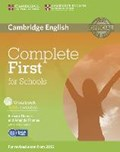 Complete First f. Schools/Workb. with answers + CD   auteur onbekend  