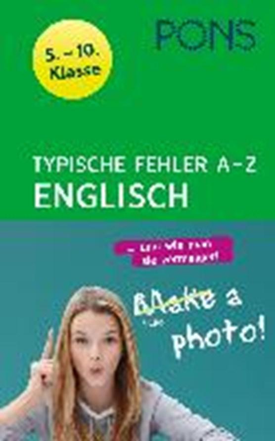 PONS Typische Fehler A- Z Engl./5. - 10. Kl.