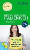 PONS Grammatik kurz & bündig Italienisch | auteur onbekend |
