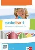 mathe live. Arbeitsheft mit Lösungsheft und Lernsoftware 6. Schuljahr. Ausgabe W | auteur onbekend |