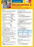 Découvertes Série jaune und bleue 3. Grammatik   Ursula Bachhausen  
