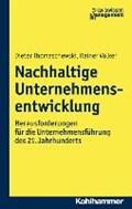 Nachhaltige Unternehmensentwicklung   Thomaschewski, Dieter ; Völker, Rainer  