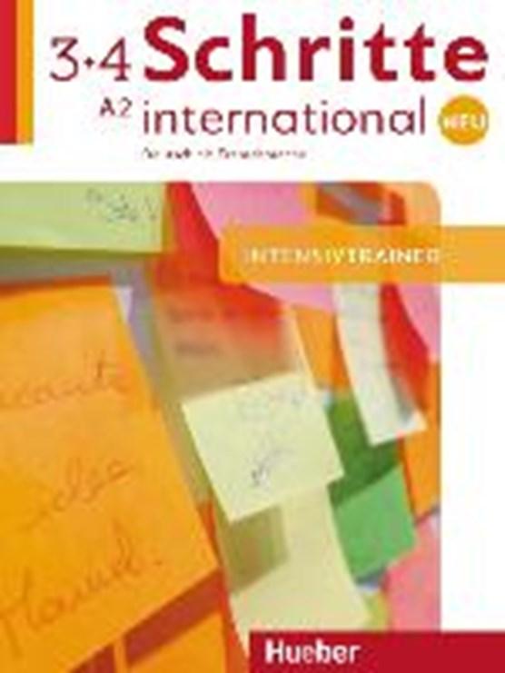Schritte international Neu 3+4. Intensivtrainer mit Audio-CD