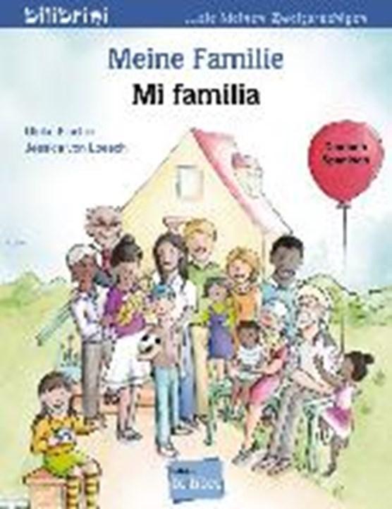 Meine Familie. Kinderbuch Deutsch-Spanisch