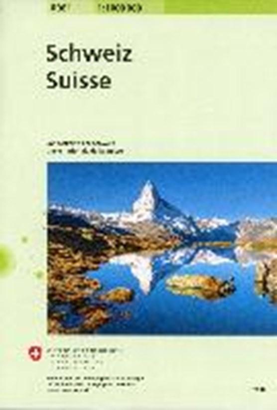 Swisstopo Switserland National Map 1:1 000 000