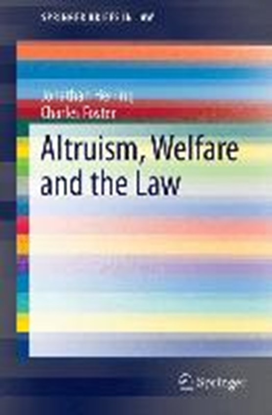 Altruism, Welfare and the Law