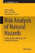 Risk Analysis of Natural Hazards | Paolo Gardoni ; Colleen Murphy ; Arden Rowell |