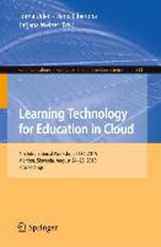 Learning Technology for Education in Cloud