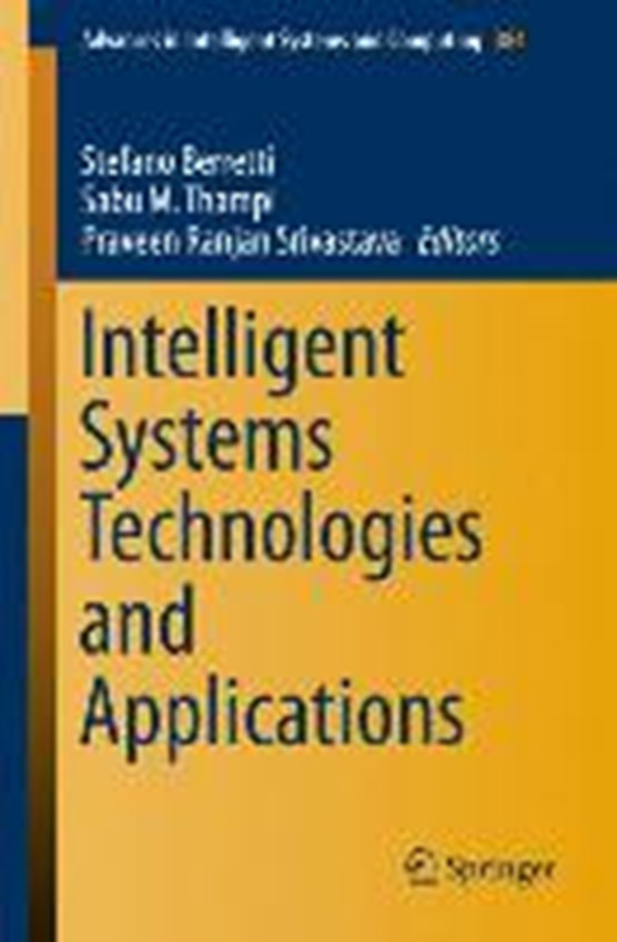 Intelligent Systems Technologies and Applications
