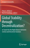 Global Stability through Decentralization? | Peter A. Wilderer ; Martin Grambow |