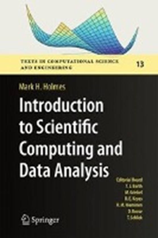 Introduction to Scientific Computing and Data Analysis