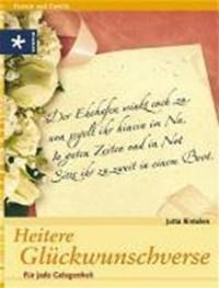 Heitere Glückwunschverse | Jutta Rintelen |